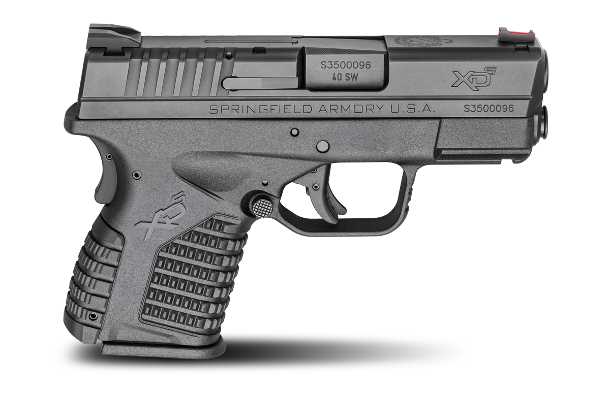 HS XDM-9 45 Kal 9mm Luger, stainless Springfield