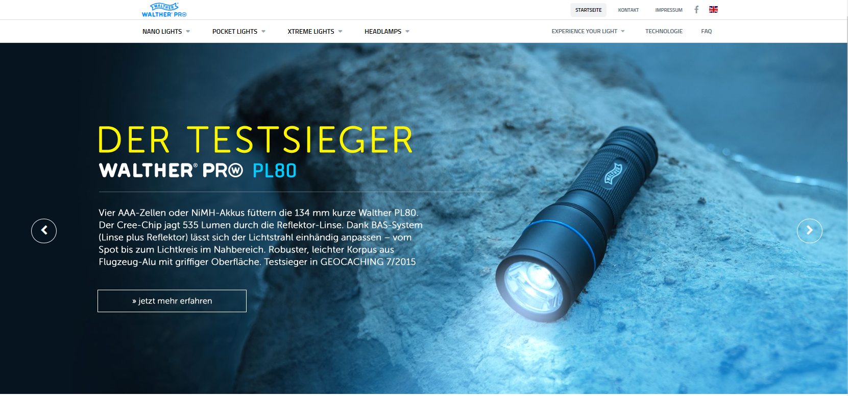 Walther Pro Lampen - WALTHER - all4shooters.com