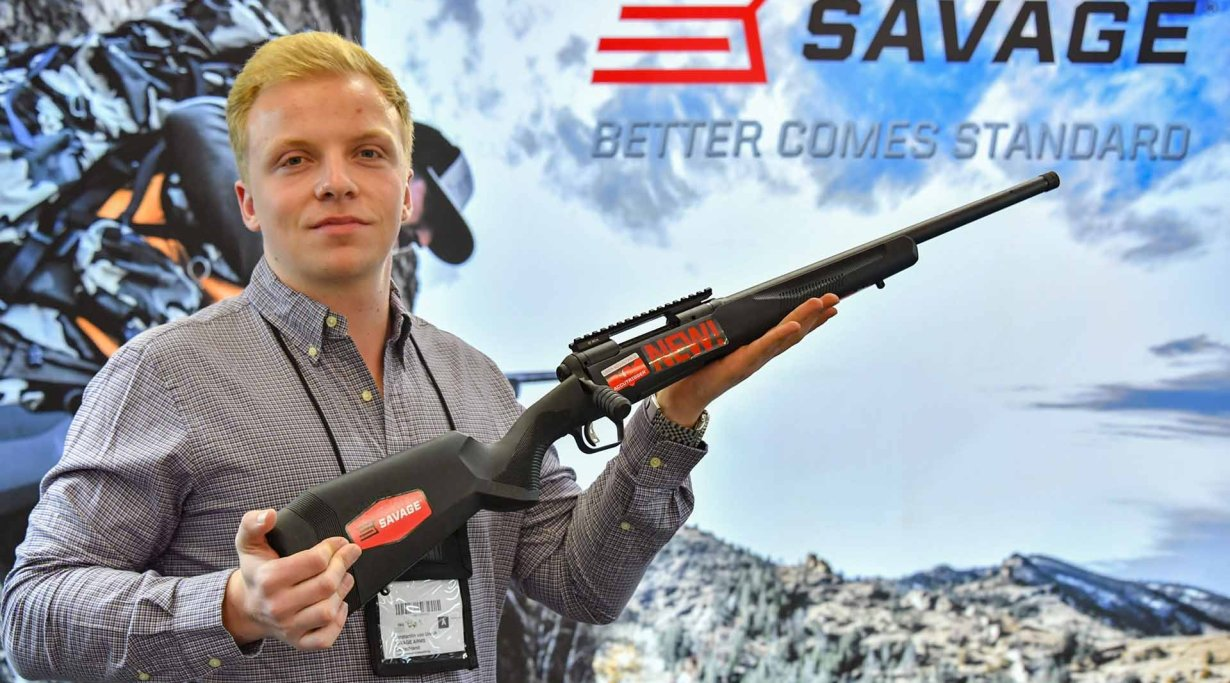 Savage Model 110 Tactical Hunter auf der IWA 2019