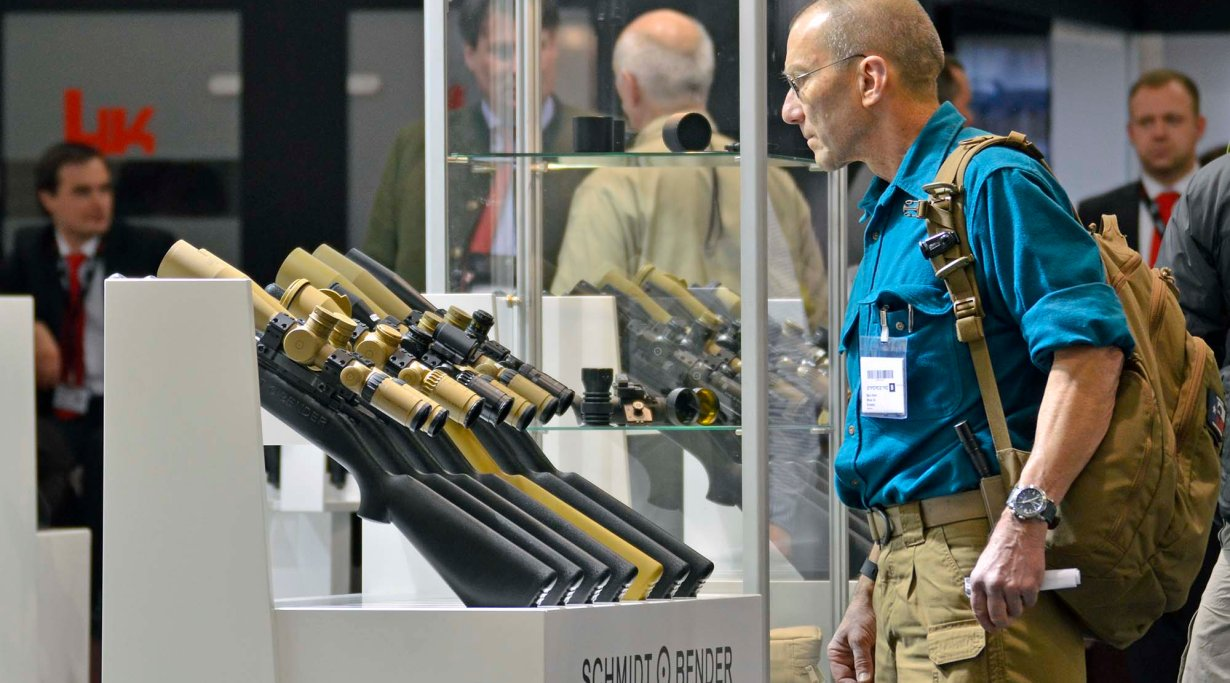 S&B Optics attract attention - Enforcetac 2016