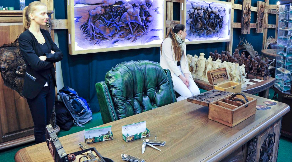 Hunting style in the home and office, at IWA 2016
