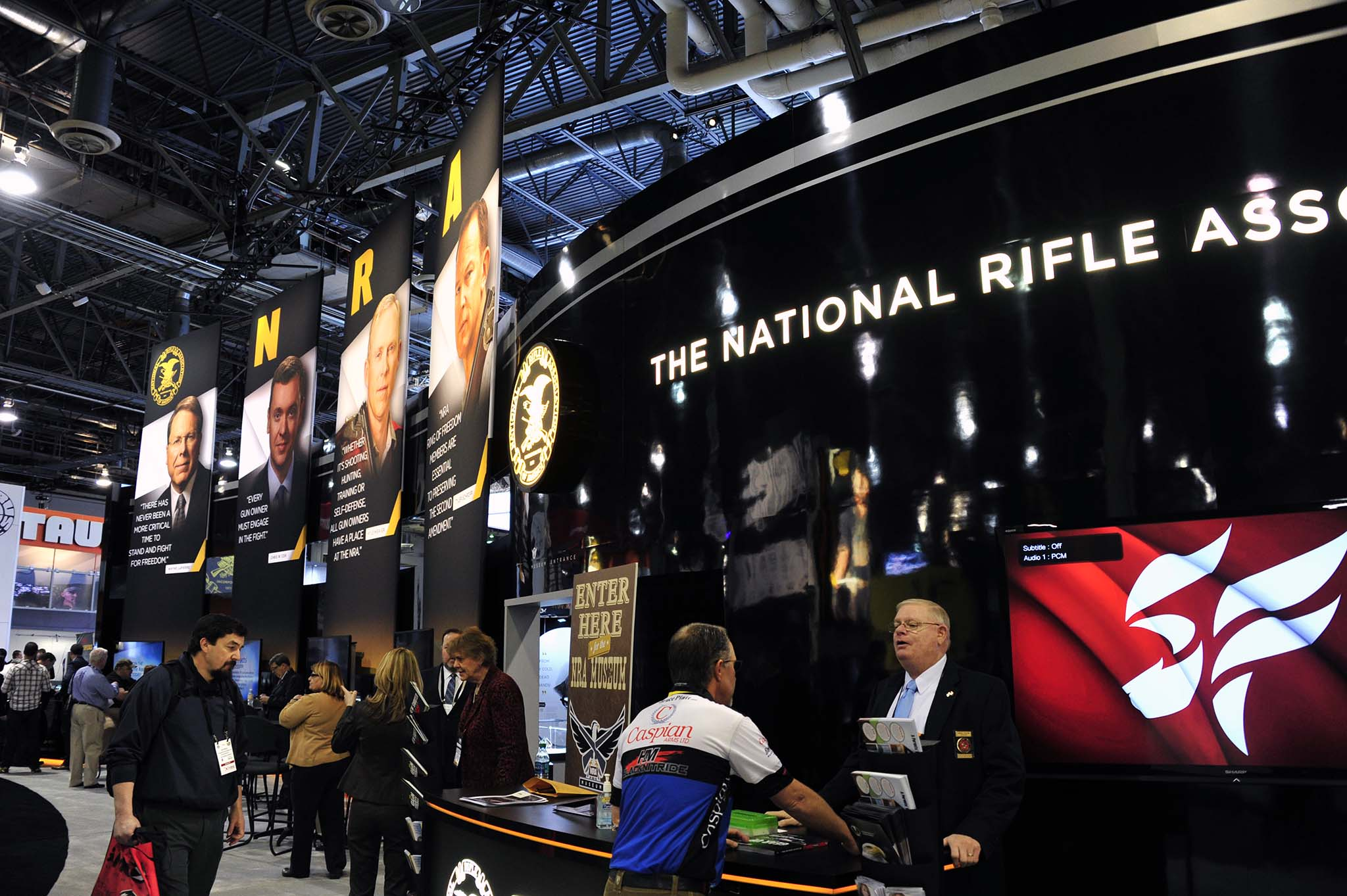 Messestand der NRA
