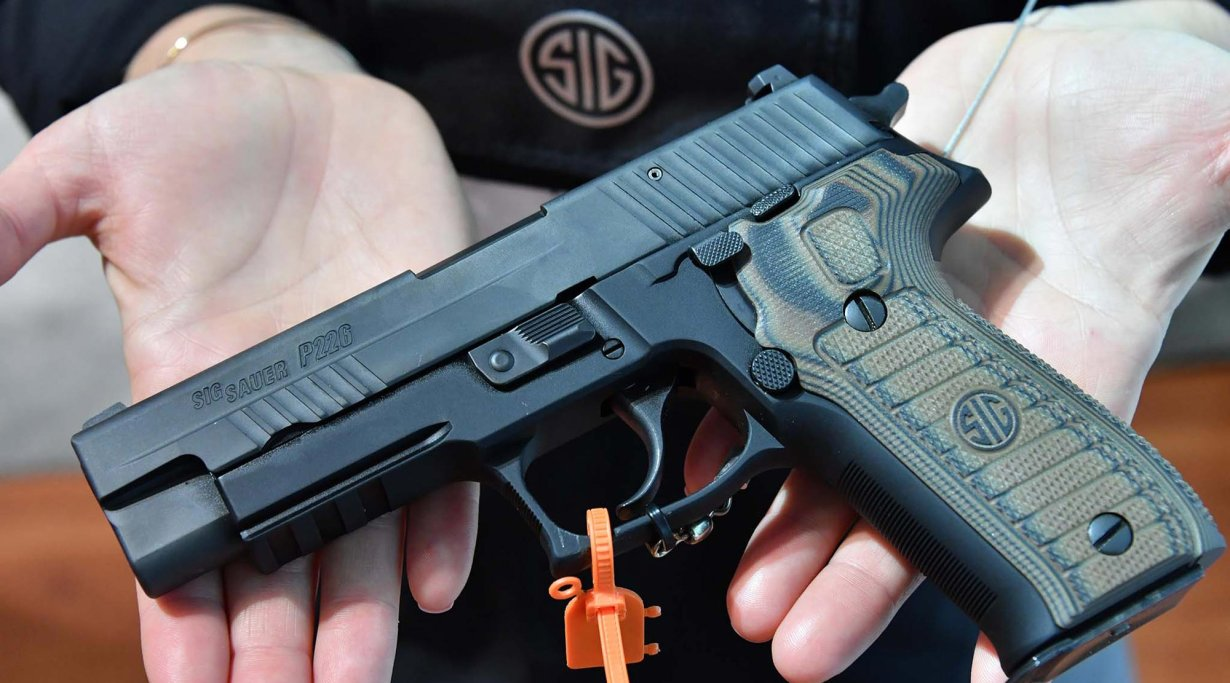 SIG Sauer P226 Select Pistolenmodell