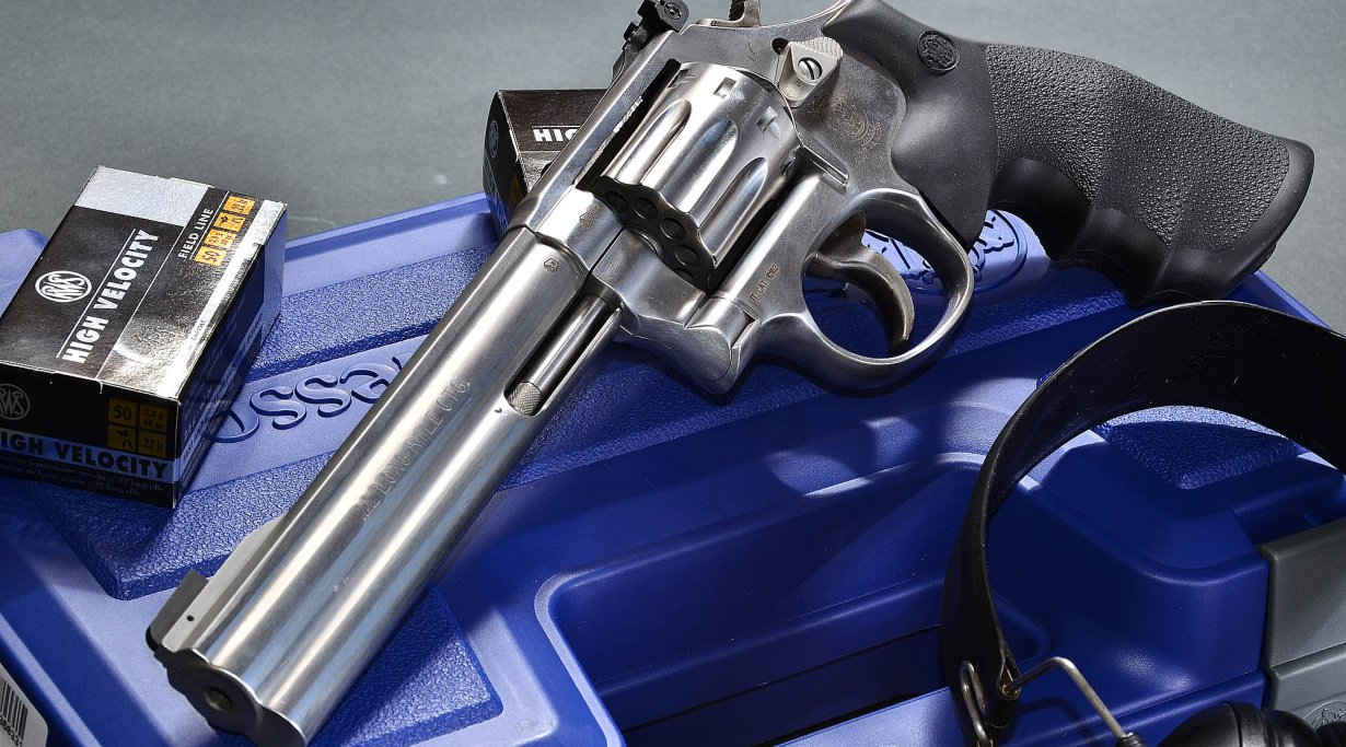 SMITH & WESSON 617 .22 lfB