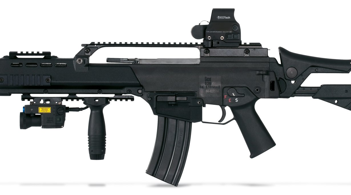 Heckler & Koch G36k A4 links
