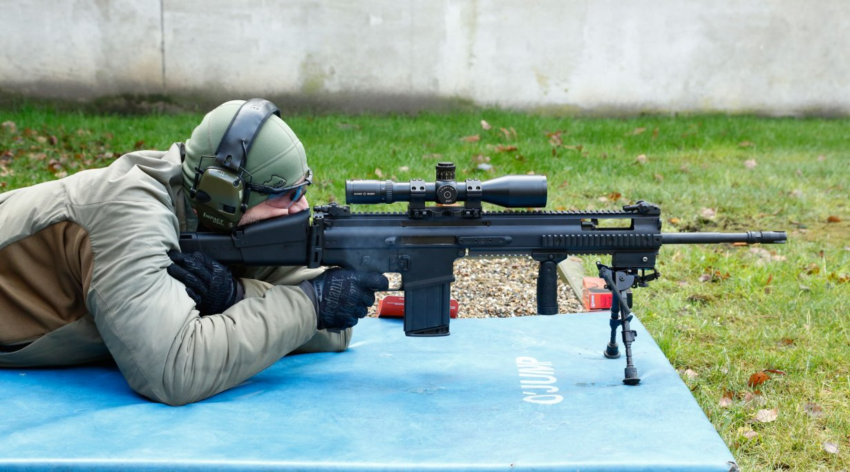 FN SCAR H PR in 7,62x51 in Aktion