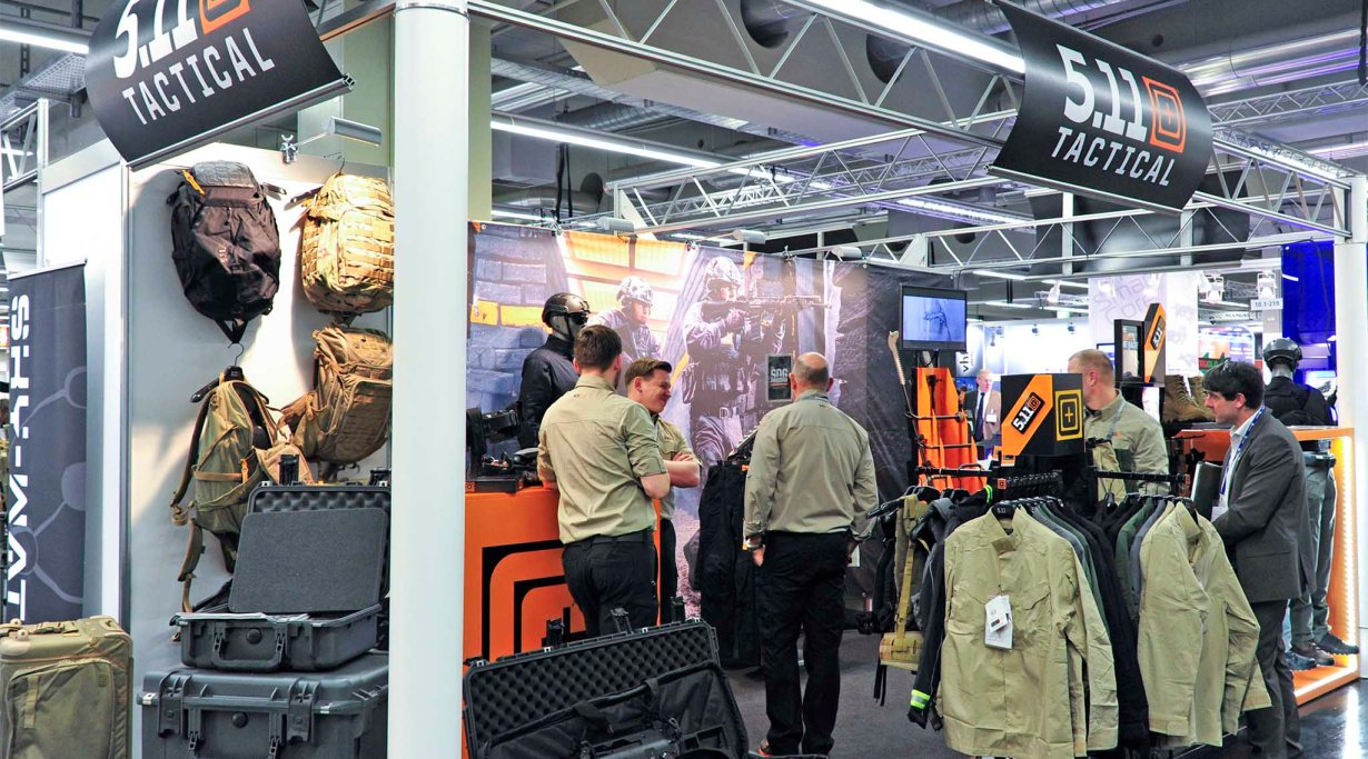 5.11 Tactical booth, Enforce Tac 2016