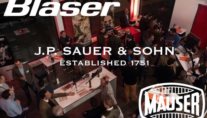 rifles: Blaser, Sauer and Mauser: all Blaser Group's new products from the Jagd & Hund 2020 fair