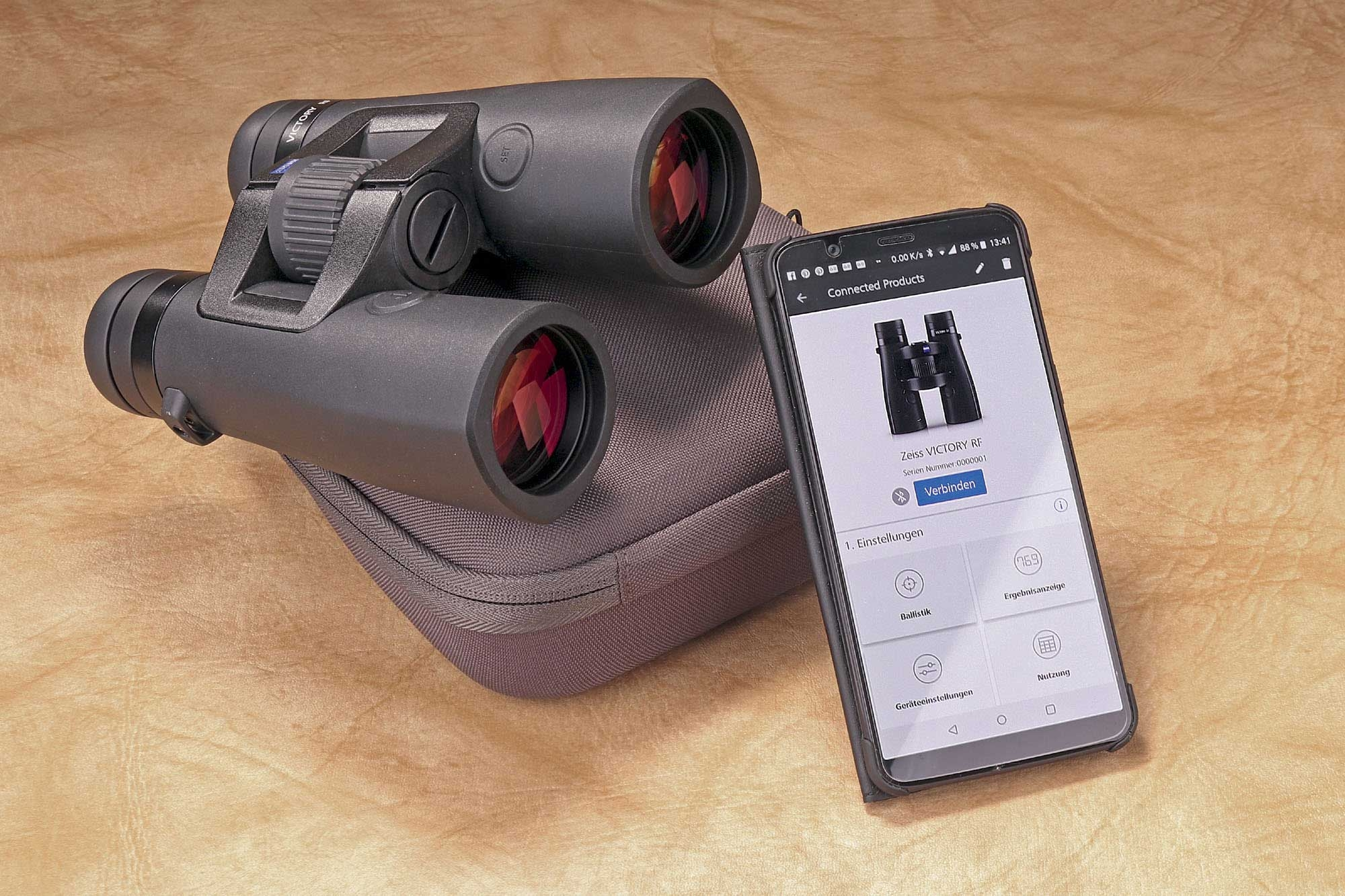 zeiss: Test: ZEISS Victory RF 10x42 Fernglas + ZEISS Hunting App