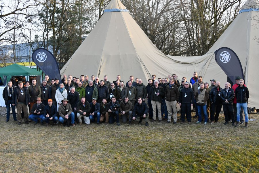 Gruppenfoto am RWS Shooting Day 2017