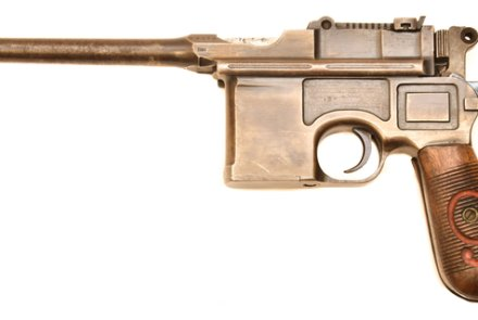 Pistole Mauser C96/16 in 9 mm Luger