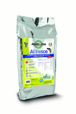 Verpackung Atletic Dog Plus Hundefutter mit Fisch