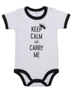 "RWS Baby Body ""Keep calm and carry me"""