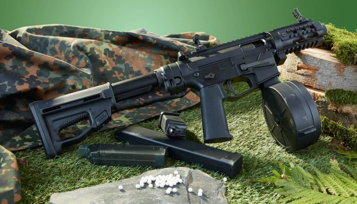 gsg: Test: ARES M4 45 Pistol X Class – was kann die Airsoft-M4-Replika von German Sport Guns?