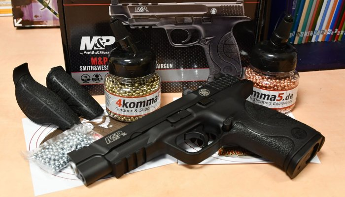 4komma5: Smith & Wesson M&P9L Sport Edition: Was bietet die sportliche CO2-Version von 4komma5 in 4,5 mm Steel BB?