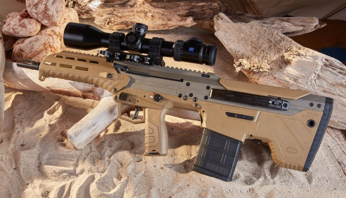desert-tech: A short bullpup semi-automatic rifle under test: the Desert Tech MDR in .308 Winchester
