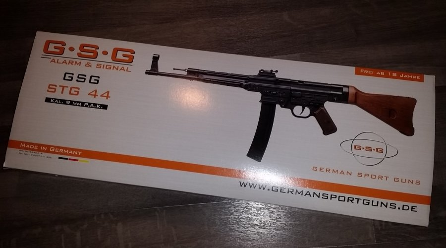 Verpackung GSG StG44 9 mm P.A.K.