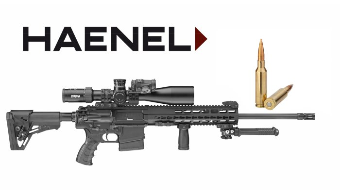 haenel: Haenel CR-series semi-automatic rifles now also available in 6.5 Creedmoor & .300 Blackout