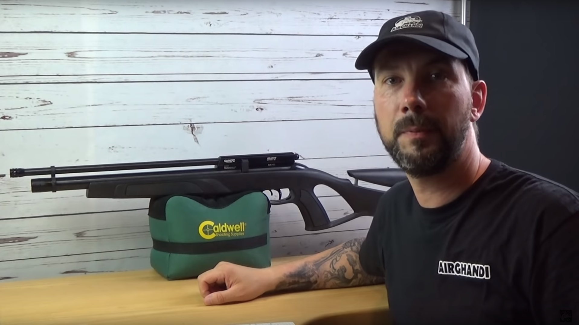airghandi: Test + Video: GAMO Coyote Black Pressluftgewehr