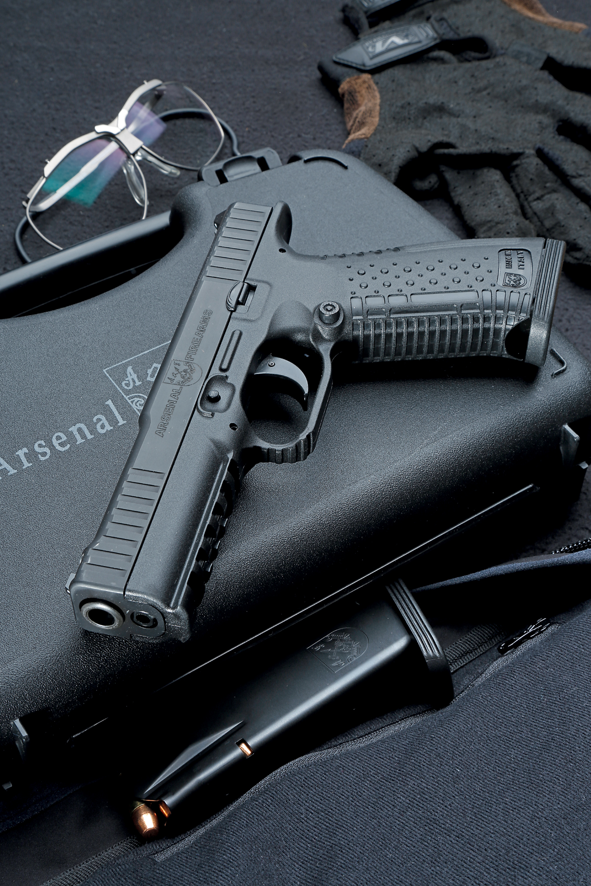 Test: Arsenal Firearms Strike One