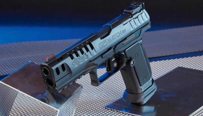 carl-walther: Black Ribbon-Version der Walther Q5 Match im Test – Was kann die sportliche Pistole in 9 mm Luger?