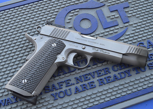 1911er Wettkampf-Pistole Colt Competition Government Model in .45 ACP