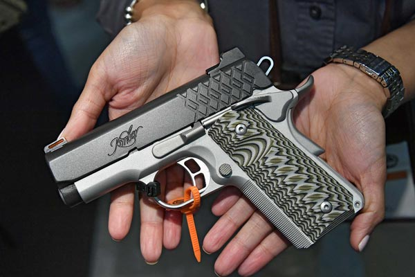 Kimber Aegis Elite Ultra linke Ansicht