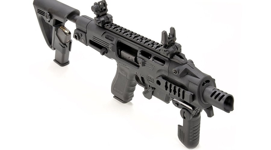 Handgun to carbine conversion kit