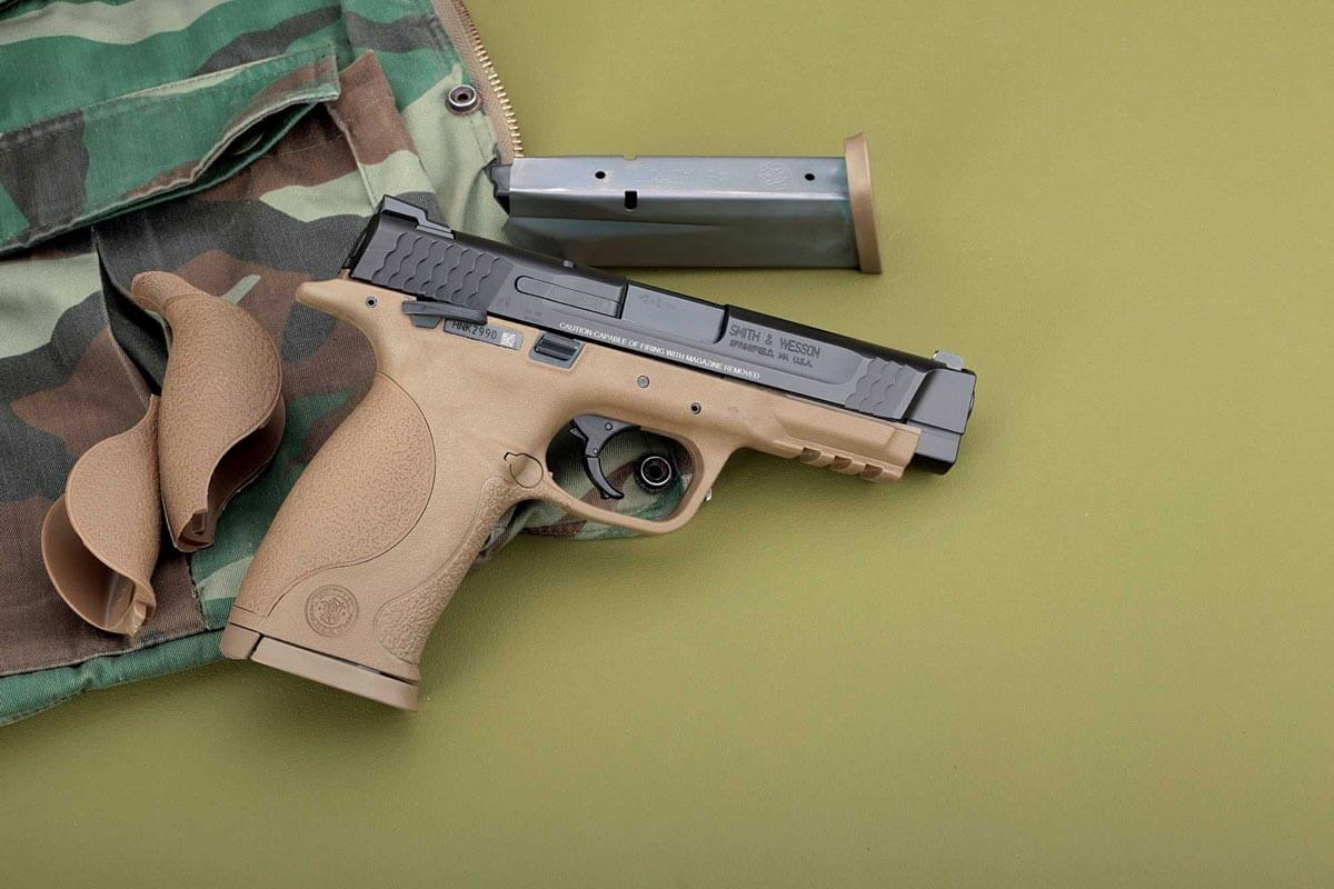 Smith & Wesson M & P 45 in Vollansicht