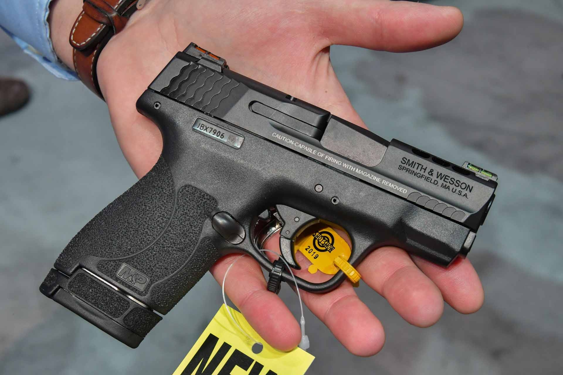 Smith & Wesson Performance Center Ported M&P40 Shield auf der IWA 2019