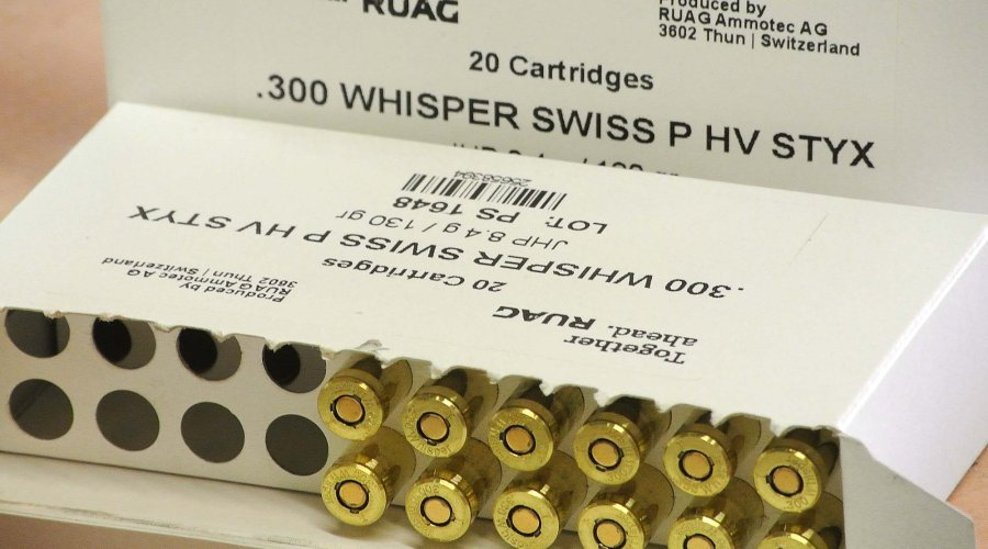 RUAG .300 Whisper SWISS P
