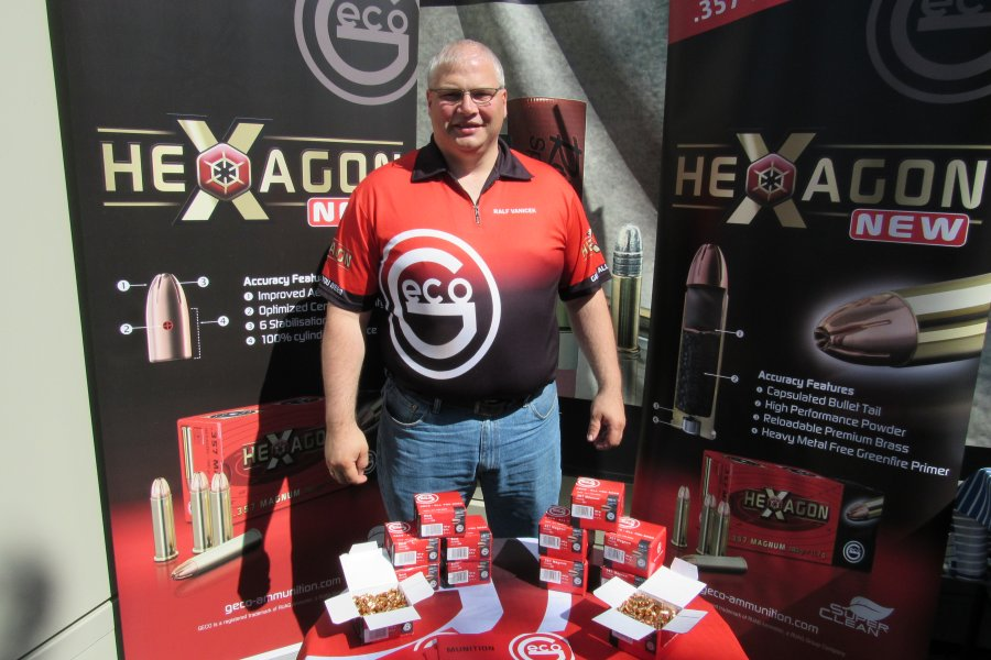 GECO Hexagon Matchmunition Produktmanager Ralf Vanicek