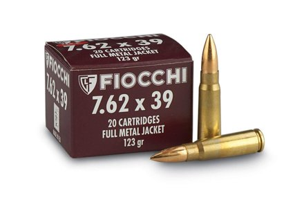 Fiocchi 7,62x39 Verpackung