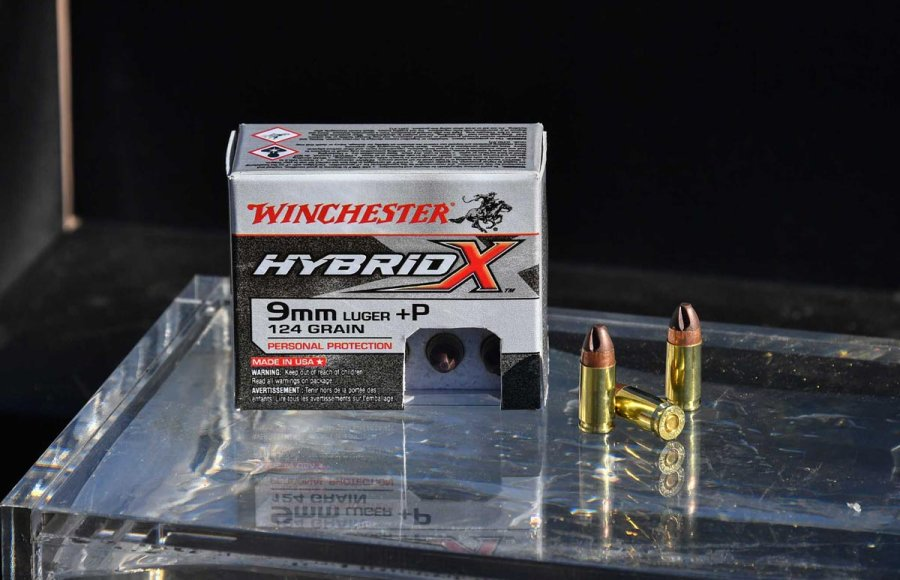 Winchester Hybrid-X in 9mm Luger