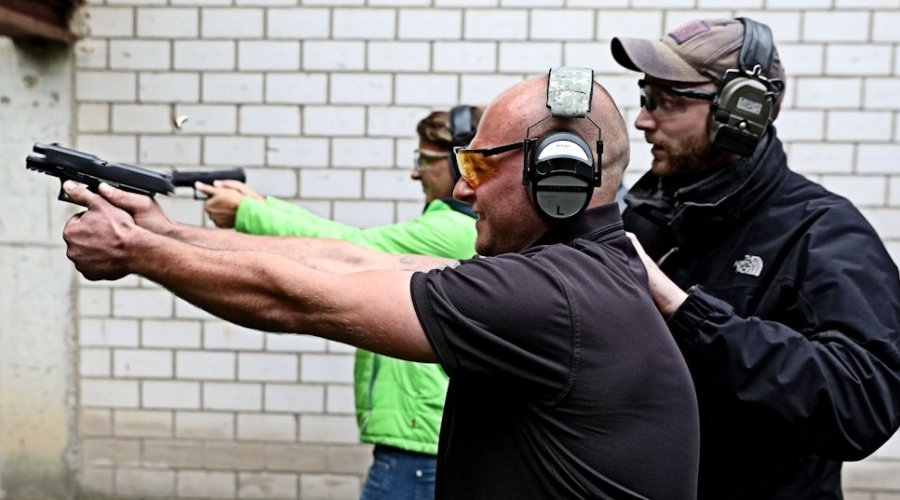 Walther Pistolen beim Action Shooting Day 2016