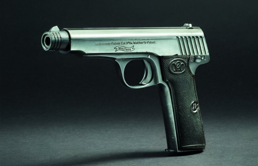 Walther Modell 6 Kal. 9 mm Luger.
