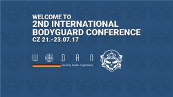 Flyer und Logo der 2. International Bodyguard Conference