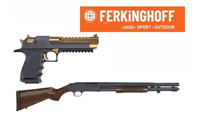 waffen-ferkinghoff: Ferkinghoff International: new products for 2020 from Kimber, Desert Eagle, Mossberg and other US brands
