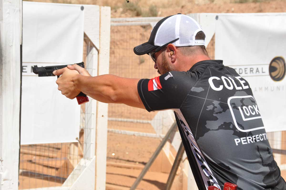 Shane Coley beim USPSA Match