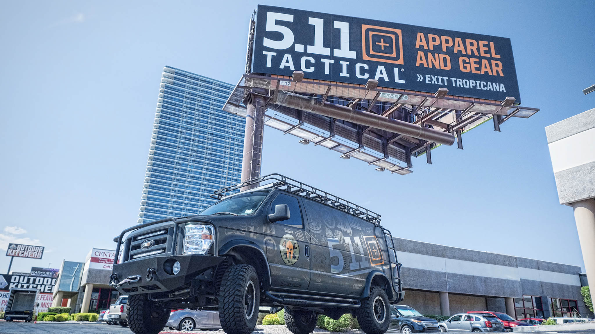5.11 Tactical acquired by Compass