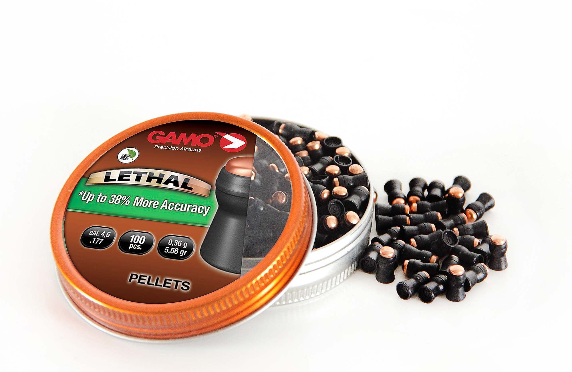 GAMO Lethal: Lead-free air rifle pellets | all4shooters