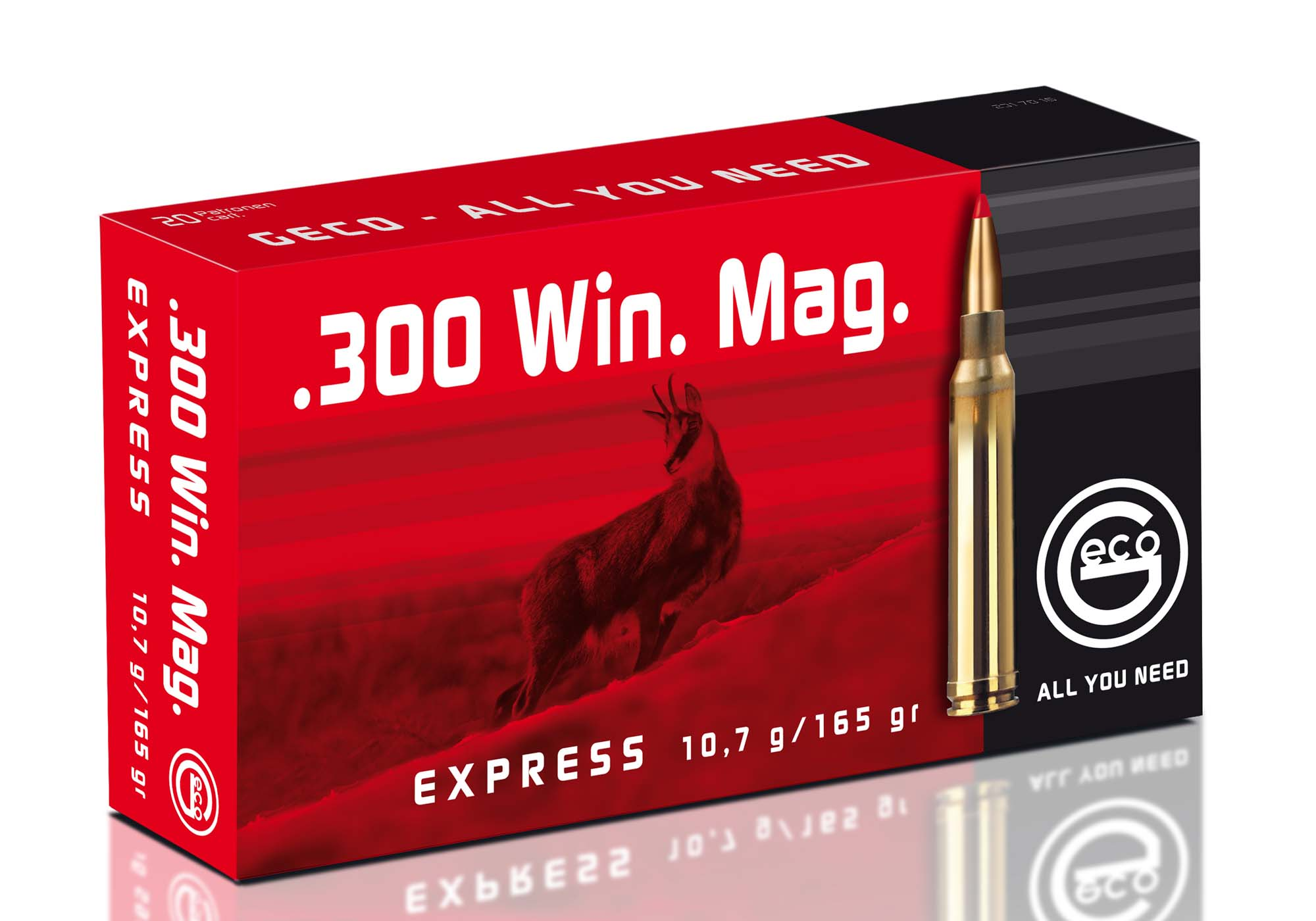 "The Geco ""Express"" includes the .300-Winchester Magnum, already used both by hunters and military snipers all around the world"