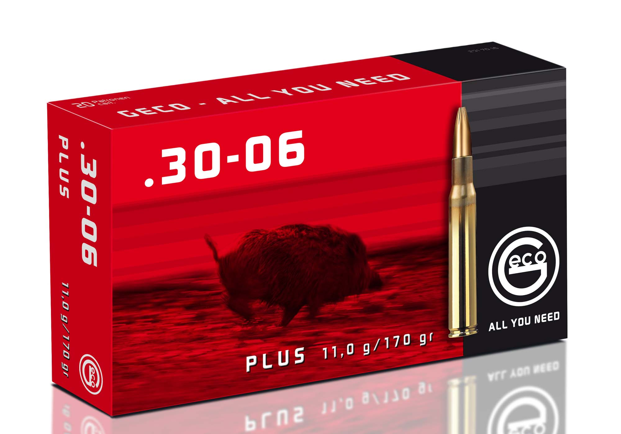 "The Geco ""Plus"" line currently comprises three calibers ‒ .300-Winchester Magnum, .308-Winchester and .30-06 Springfield ‒ with more loads coming for the near future"