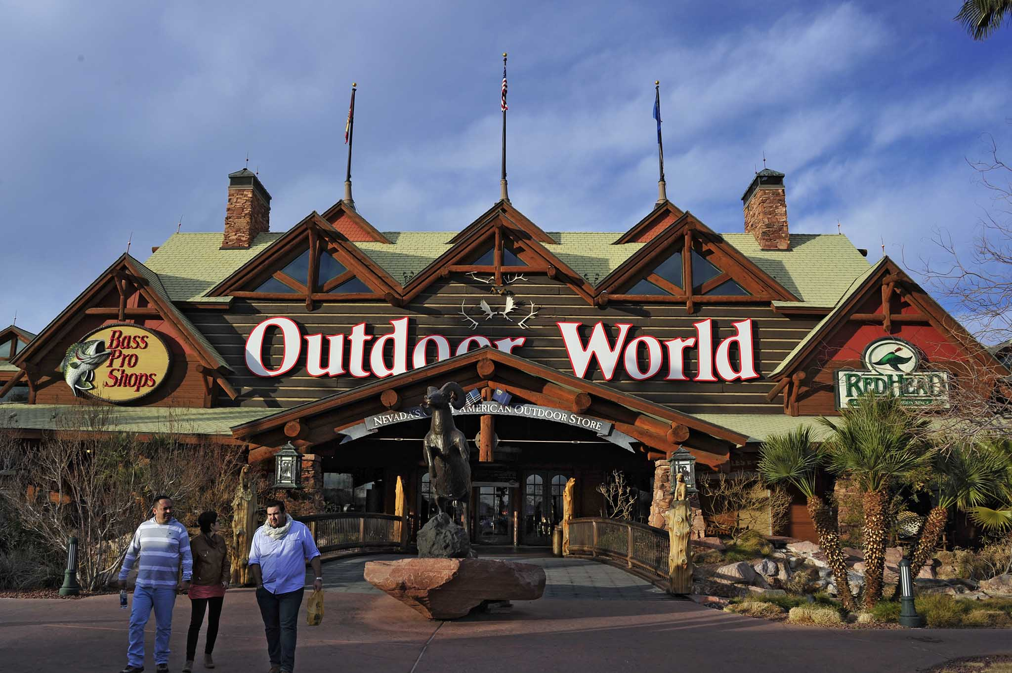 the las vegas bass pro shops outdoor world store all4shooters. Black Bedroom Furniture Sets. Home Design Ideas
