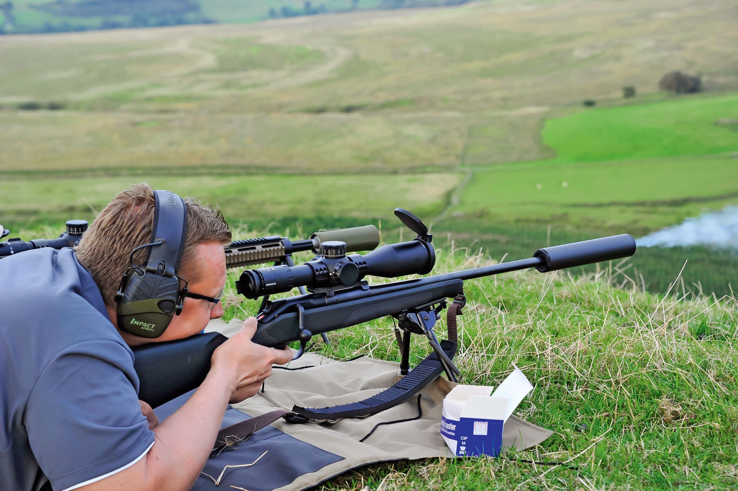 Long-range shooting with the MINOX ZP5 riflescope