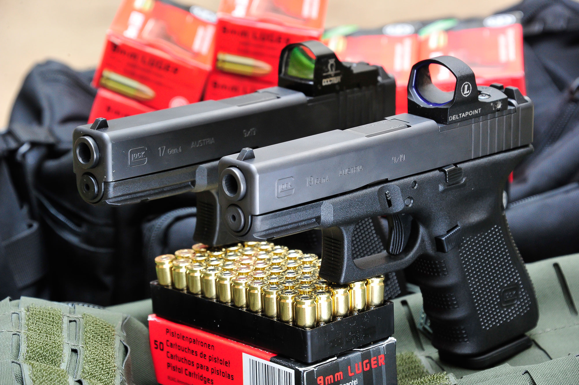 "New ""Carry Optics"" shooting discipline: Testing the GLOCK 17 and GLOCK 19 M.O.S. pistols"