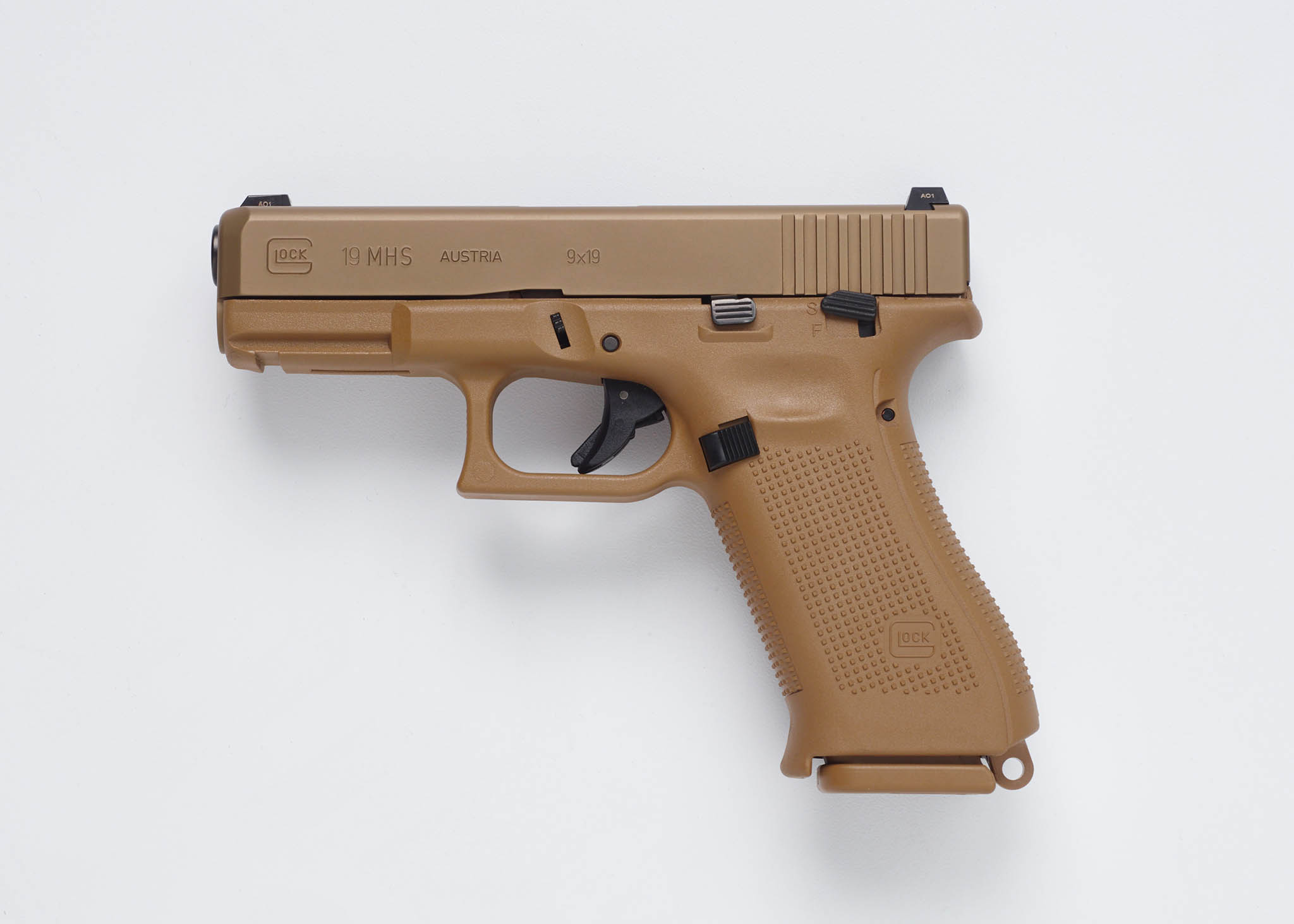 Glock 19 MHS modular handgun system - all4shooters.com