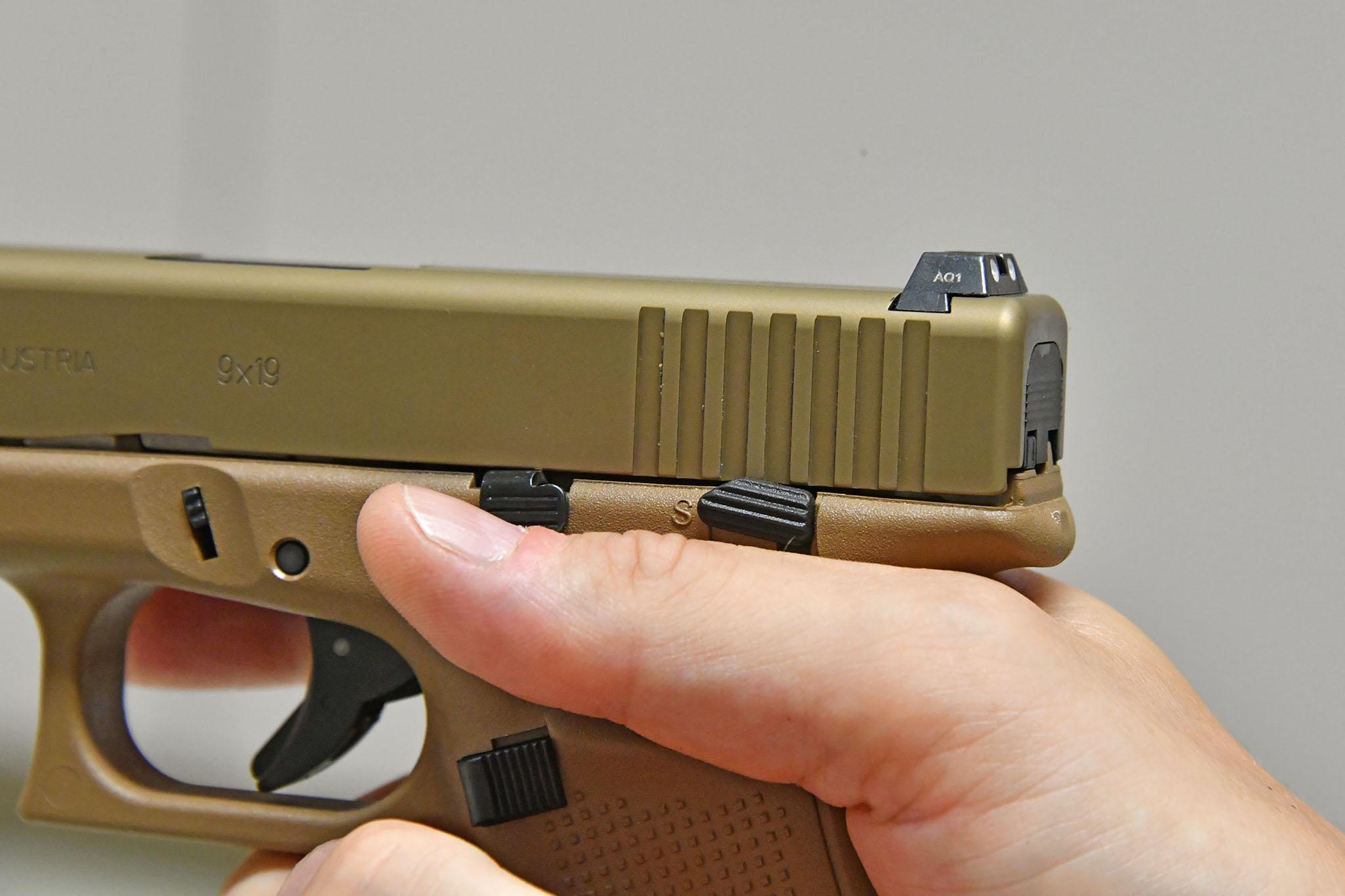 glock 19 mhs modular handgun system all4shooters com rh all4shooters com Glock Manual Safety Review Glock 19 Maintenance Manual
