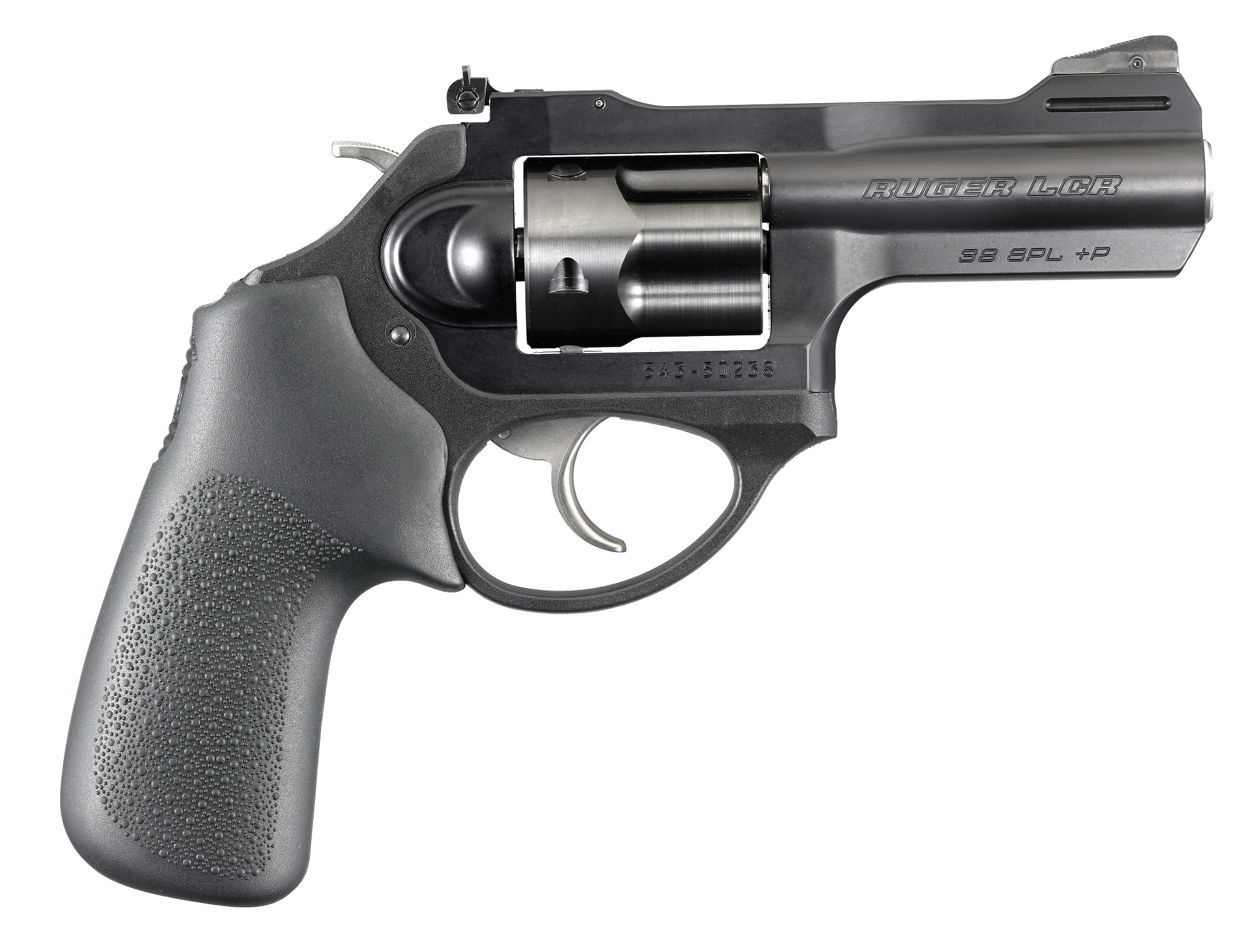 Lcr In Hand : Ruger lcrx double action revolver with inch barrel