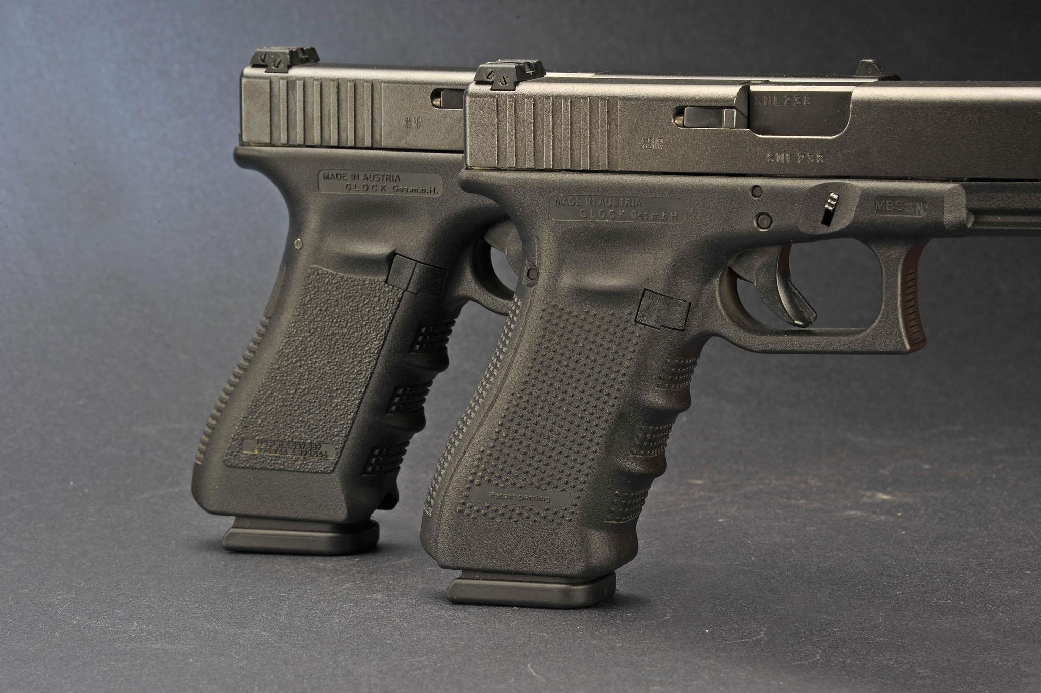 Glock pistols Gen3 VS Gen4. What is the difference between ...
